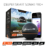 MODELIS: DP1H10S10/ITGAM0303<br />Deeper Smart Fishfinder Sonar Pro+, Wifi+GPS for iOS, Android Black