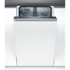 MODELIS: SPV25CX01E<br />Bosch Dishwasher SPV25CX01E Built in, Width 45 cm, Number of place settings 9, Number of programs 5, A+, AquaStop function, White