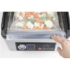 MODELIS: 1418<br />Caso Chamber Vacuum sealer VacuChef 70  Power 350 W, Stainless steel