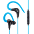 MODELIS: HE17B<br />Acme Sport earphones HE17B 3.5 mm, Blue/Black, Built-in microphone
