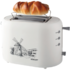 MODELIS: SC-TM11003<br />Scarlett Toaster SC-TM11003 White, Plastic, 800 W, Number of slots 2, Number of power levels 7, Bun warmer included