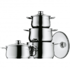 MODELIS: 730046040<br />Cookware set, 4pc, WMF 07.3004.9990 4, Stainless steel, Dishwasher proof, Lid included