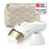 MODELIS: PL5137<br />Braun Epilator PL 5137 IPL Hair Removal System, Bulb lifetime (flashes) 400000, Number of intensity levels 10, Number of speeds 3, White/Gold