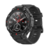 Amazfit T-Rex Smart watch, Rock Black, GPS (satellite), AMOLED Display, Touchscreen, Heart rate monitor, Activity monitoring 24/7, Waterproof, Bluetooth