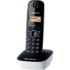 MODELIS: KX-TG1611FXW<br />Panasonic Cordless KX-TG1611FXW Black/White, Caller ID, Phonebook capacity 50 entries, Built-in display, Wireless connection,