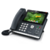 "MODELIS: SIP-T48G<br />Yealink SIP-T48G IP Phone, 7"" 800 x 480-pixel color touch screen with backlight, 16 VoIP accounts"