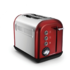MODELIS: 222011<br />Morphy richards 222011 Red, Stainless steel, Number of slots 2, Number of power levels 7,