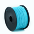 MODELIS: 3DP-ABS1.75-01-LB<br />Flashforge ABS plastic filament for 3D printers 1.75 mm diameter, 1kg/spool, Luminous Blue