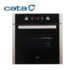 MODELIS: LC8110PYROBK<br />Cata LC 8110 PYRO BK Multifunctional Oven, 70L, 11 Functions, Side Racks, 1 telescopic glides, EC-A, Digital Timer, Pirolilic clean System, Push-Pull Knobs, Black Glass