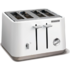MODELIS: 240003<br />Toaster Morphy richards 240003 White, Plastic, 1800 W, Number of slots 4, Number of power levels 7,