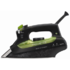 MODELIS: DW6010F1<br />Rowenta Eco Intelligence Steam iron DW6010F1 Black/green, 2400 W, With cord, Continuous steam 40 g/min, Steam boost performance 160 g/min, Auto power off, Anti-drip function, Anti-scale system, Vertical steam function