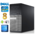MODELIS: RD5898WH<br />DELL 790 MT i5-2400 8GB 120SSD+250GB DVD WIN10 RENEW