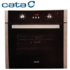 MODELIS: LC 890 D BK 07002402<br />Cata LC 890 D BK Multifunctional Oven, Black Glass, 70L, 8 Functions, Side Racks, 1 telescopic glides, EC-A, Digital Timer, Push-Pull Knobs