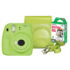 MODELIS: INSTAX 9 LIME GREEN+10+CASE<br />Fujifilm Instax Mini 9 + Instax mini glossy (10) + Camera Case Lime green, 0.6m - ∞