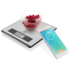 MODELIS: ETA079090000<br />ETA Kitchen scales with smart application  Nutri Vital Maximum weight (capacity) 5 kg, Graduation 1 g, Display type LCD, Silver