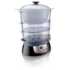 PHILIPS HD9140/91 Food Steamer, 900W, 3 tiers (2.5/2.6/3.5 l), Water level indicator, Overheat and dry boil protection, Cool-touch handgrips, 1.1 l water tank, 1m cord