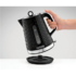 MODELIS: 108311<br />Morphy richards Kettle 108311EE Standard, Plastic, Black, 2200 W, 360° rotational base, 1.5 L