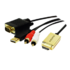 MODELIS: CV0052A<br />2m HDMI to VGA with Audio Cable,  black Logilink