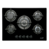 MODELIS: 08046403<br />CATA L 705 CI Gas on glass, Number of burners/cooking zones 5, Black