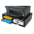 MODELIS: 42807<br />A4 Organizer/Stand for printers, MFP's and monitors (black, 4 shelves)
