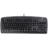 MODELIS: KB-720US+RU<br />A4Tech Keyboard KB720 standard, wired, Keyboard layout EN/RU, black, USB