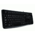 Logitech K120 wired USB Black (EN)