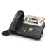 "MODELIS: SIP-T27P<br />Yealink SIP-T27P IP Phone, 3.66"" 240x120-pixel graphical LCD with backlight, 6 VoIP accounts"