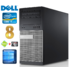MODELIS: RD5899WH<br />DELL 790 MT i5-2400 8GB 120SSD+500GB DVD WIN10 RENEW