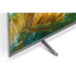 "Sony KD-55XH8077 55"" (139 cm), Smart TV, Android, 4K UHD, 3840 x 2160, Wi-Fi, DVB-T/T2/S2/S/C, Silver"