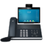 "MODELIS: VP-T49G<br />Yealink VP-T49G Video IP Phone, 8"" 1280 x 800 capacitive touch screen IPS, 16 VoIP accounts"