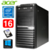 MODELIS: RD5649WH<br />Acer Veriton M4610G MT G630 16GB 500GB DVD WIN10 RENEW