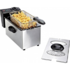 MODELIS: DOM152<br />DomoClip Multifunctional deep fryer DOM152 Stainless steel, 2000 W, 3 L, Electric