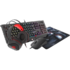 MODELIS: NCG-1469<br />GENESIS COMBO set 4in1 cobalt 330 rgb keyboard + mouse +headphones + mousepad, us layout