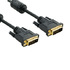MODELIS: 04693<br />4WORLD 04693 4World monitor cable DVI-D 24 +1 - DVI-D 24 +1 M / M 3m DL ferrite- Retail