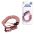 MODELIS: NBS007<br />Logilink NBS007,  Notebook Coil Cable Lock, pink Logilink