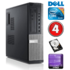 MODELIS: RD5517<br />DELL 7010 DT i5-3470 4GB 250GB DVD WIN10Pro RENEW