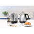 MODELIS: 104406<br />Morphy richards Evoke Jug Kettle 104406 Electric, 2200 W, 1.5 L, Stainless steel, Brsuhed stainless steel, 360° rotational base