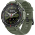 MODELIS: W1919OV1N<br />Amazfit T-Rex Smart watch, GPS (satellite), AMOLED Display, Touchscreen, Heart rate monitor, Activity monitoring 24/7, Waterproof, Bluetooth, Army Green