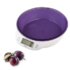 MODELIS: GALBAC867P<br />Gallet Digital kitchen scale GALBAC867P Maximum weight (capacity) 5 kg, Graduation 1 g, Display type LCD touchscreen, White/purple