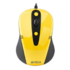MODELIS: N-370FX-2<br />A4Tech mouse N-370FX-2  V-Track Padless Mouse USB (Yellow)  A4Tech wired