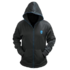 MODELIS: A9742691<br />Dell Alienware Zip-Glow Hoodie Black - Extra Large