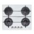 MODELIS: CVG 64 STGB<br />Candy CVG 64 STGB Gas on glass, Number of burners/cooking zones 4, Rotary knobs, White