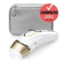 MODELIS: PL5117<br />Braun Epilator PL 5117 IPL Hair Removal System, Bulb lifetime (flashes) 400000, Number of intensity levels 10, Number of speeds 3, White/Gold