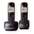 MODELIS: KX-TG2512FXT<br />Panasonic Cordless KX-TG2512FXT Black, Caller ID, Wireless connection, Phonebook capacity 50 entries, Conference call, Built-in display, Speakerphone
