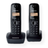 MODELIS: KX-TG1612FXH<br />Panasonic Cordless KX-TG1612FXH Black, Caller ID, Wireless connection, Phonebook capacity 50 entries, Built-in display, Conference call
