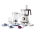 MODELIS: HR7761<br />Philips Food processor HR7761/00 Oyster metallic, 750 W, Number of speeds 2, 2.1 L