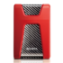 "MODELIS: AHD650-2TU31-CRD<br />ADATA HD650 2000 GB, 2.5 "", USB 3.1 (backward compatible with USB 2.0), Red"