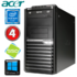 MODELIS: RD5622WH<br />Acer Veriton M4610G MT G630 4GB 120SSD DVD WIN10 RENEW