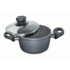 MODELIS: 7451<br />Stoneline Cooking pot 7451 1.5 L,  die-cast aluminium, Grey, Lid included