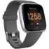 MODELIS: FB415SRGY<br />Fitbit Versa Lite Fitness Trackers S/L, /Silver Gray Fitbit LCD, Silver Gray, Touchscreen, Bluetooth, Built-in pedometer, Heart rate monitor, Waterproof